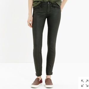 Madewell motorcycle jeans